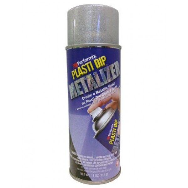 Plasti Dip Spray Can Bright Alluminio Metalizer