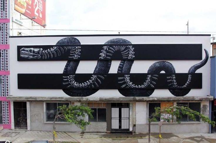 Carpetas tejidas a gancho utilizadas para graffitis