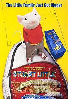 Stuart Little is a 1999 American family comedy film, directed by Rob Minkoff. It is loosely based on the novel of the same name by E. B. White. It combines live-action and computer animation. The screenplay was co-written by M. Night Shyamalan and Greg Brooker, with uncredited script doctoring by David O. Russell and Billy Ray.