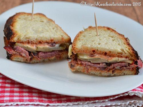 ©Sandwiches Pastrami-Style Rinderbrust aus dem Slow Cooker