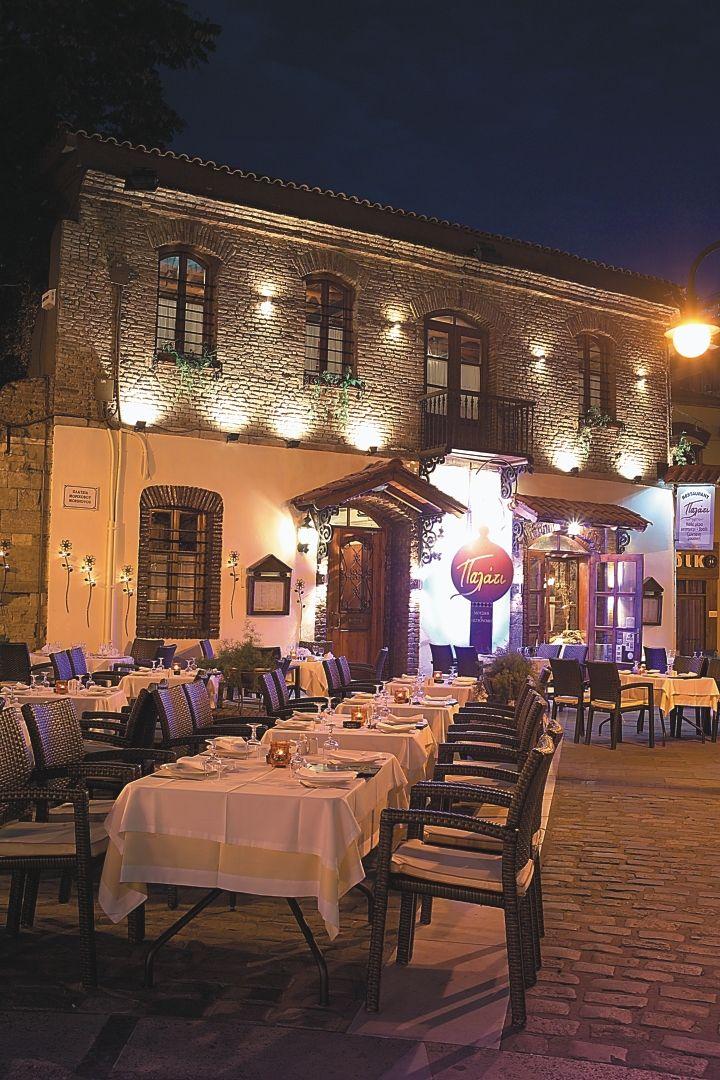 palati ladadika old town, Thessaloniki, historical Macedonia, Greece