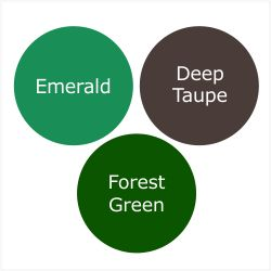 How To Wear Forest Green For A Shaded Winter (Deep Winter)