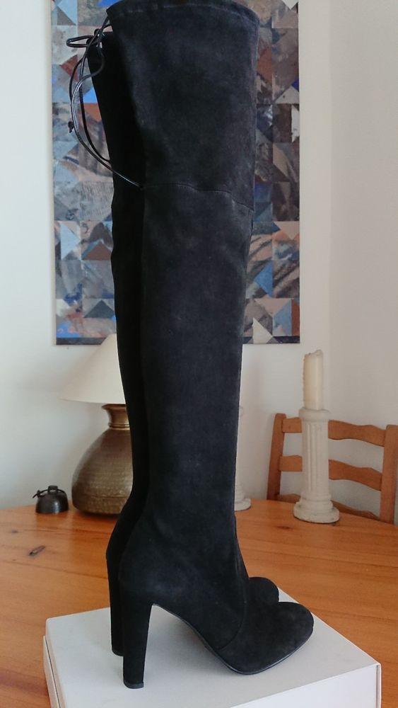 8bab72f7b9e STUART WEITZMAN BRAND NEW OVER THE KNEE HIGHLAND BOOTS .SIZE UK8 RRP £695