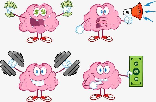 Vector Brain Material Brain Clipart Creative Brain Cartoon Brain Png Transparent Clipart Image And Psd File For Free Download Cartoon Brain Cartoon Clip Art Cartoon Brain Drawing