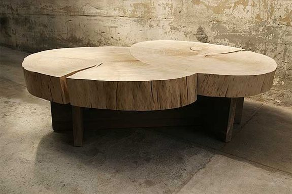 WOOD DESIGN BLOG || A selection of bold, live edge, center piece Coffee Tables || #wood #furniture #interiors