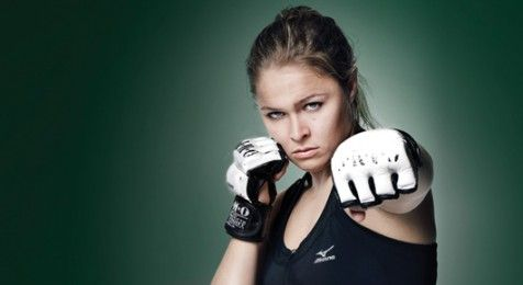 """Learn the """"Juji Squish Roll"""" From Judo Player and MMA Fighter Ronda Rousey as the UFC women's bantamweight champion and former Olympic judoka demonstrates"""