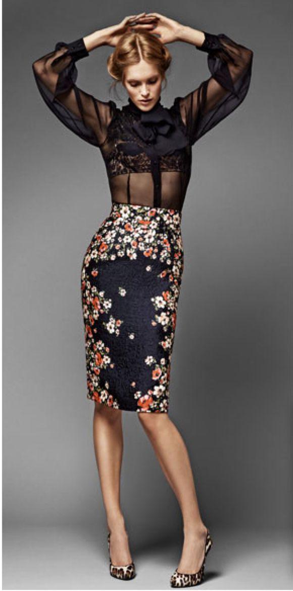 #floral #style #fashion                                                                                                                                                                                 Plus