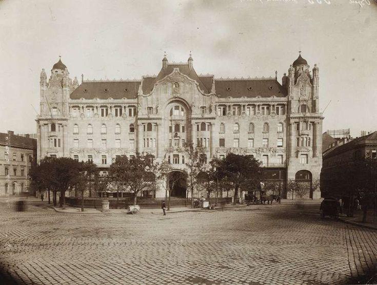 Széchenyi István (Ferenc József) tér, Gresham-palota. A kép forrását kérjük így adja meg: Fortepan / Budapest Főváros Levéltára. Levéltári jelzet: HU.BFL.XV.19.d.1.08.142