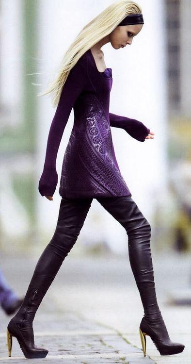 Tanya Dziahileva - Muse - ph David Vasiljevic - #lexeecouture