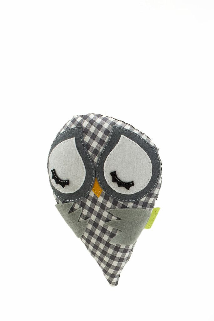Little Canary Pillow Grey  Length 20cm, Width 20cm  Shop at pakepake.com