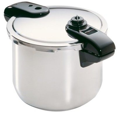Presto 8-qt. Pressure Cooker - Polished Stainless Steel (01370)