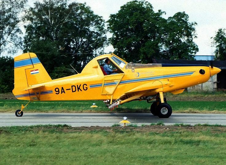 9A-DKG - Air Tractor AT502B - Praha - Kbely (LKKB) - planes.cz