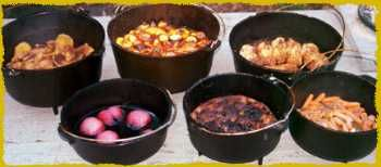 http://appletreedeals.hubpages.com/hub/campfire-cooking-cast-iron-dutch-oven