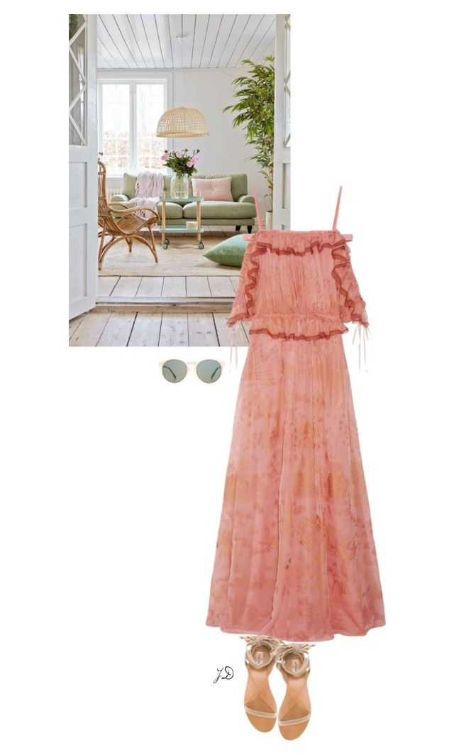 """""""Country style"""" by jelenasepa ❤ liked on Polyvore featuring Valentino, HOOK LDN and country"""