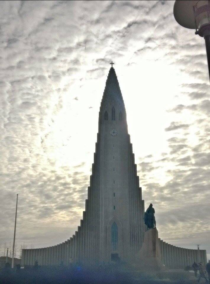 Church in Rekyavik, Iceland