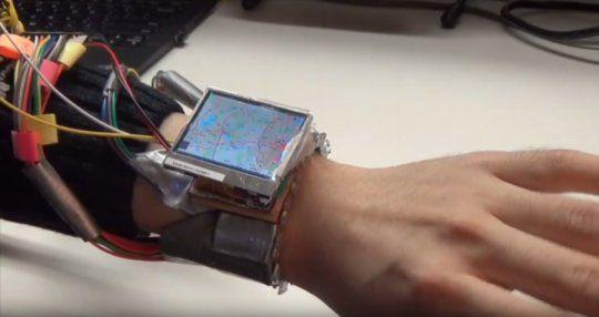 WristWhirl, a Next Generation Smartwatch Uses the Wrist as a Joystick #WristWhirl #wearabledevice #joystick  #gestureinput