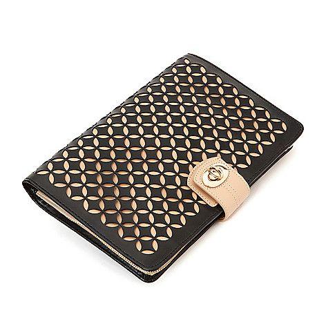 148-964 - WOLF Chloe Leather Jewelry Travel Case, Roll or Portfolio