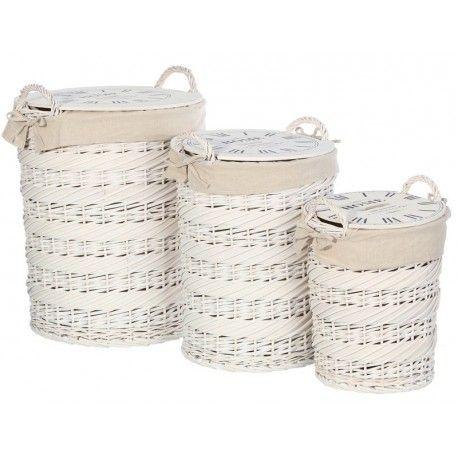 para almacenar la ropa sucia mira que fantsticos cestas de mimbre distintas medidas