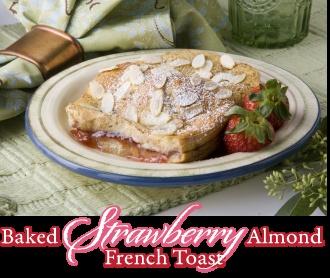 Baked Strawberry Almond French Toast   Um Yum - Breakfast/breads   Pi ...