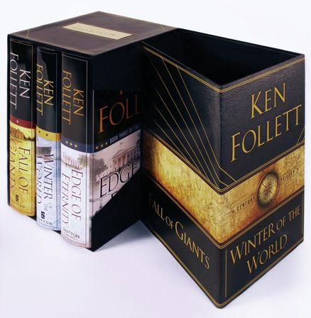 The Century Trilogy Boxed Set: All three Ken Follett books in a beautiful signed slipcase.