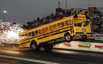 Crazy School Bus #SchoolBusWheelie #BusMartInc