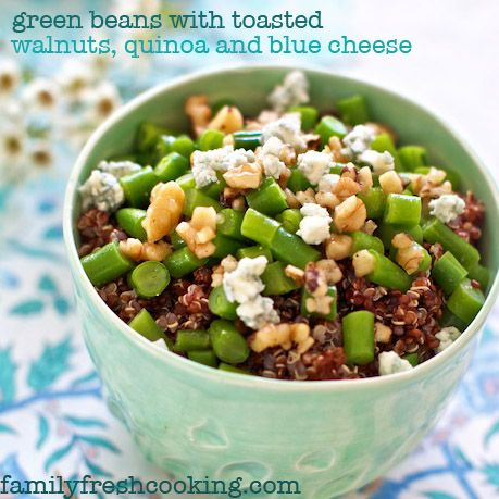... Dishes on Pinterest | Avocado salad dressings, Green beans and Quinoa