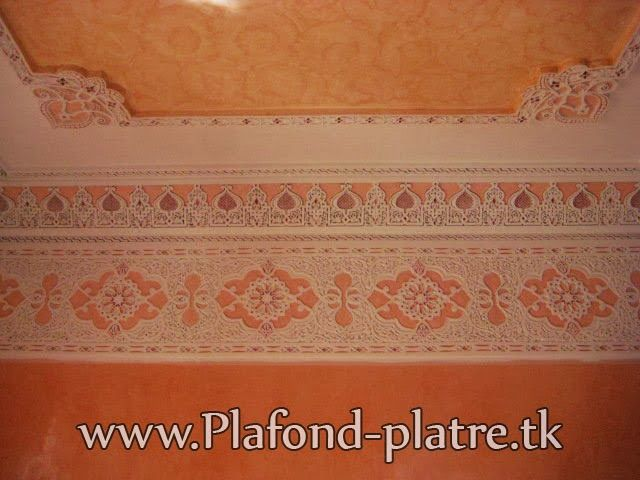 58 best faux plafond images on pinterest for Model faux plafond platre