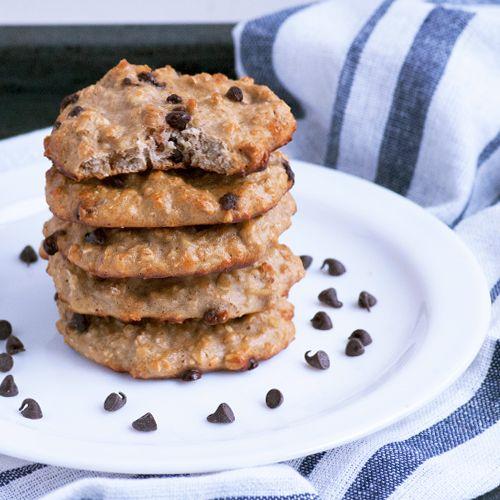15 Minute+5 Ingredient High Protein Cookies Recipe
