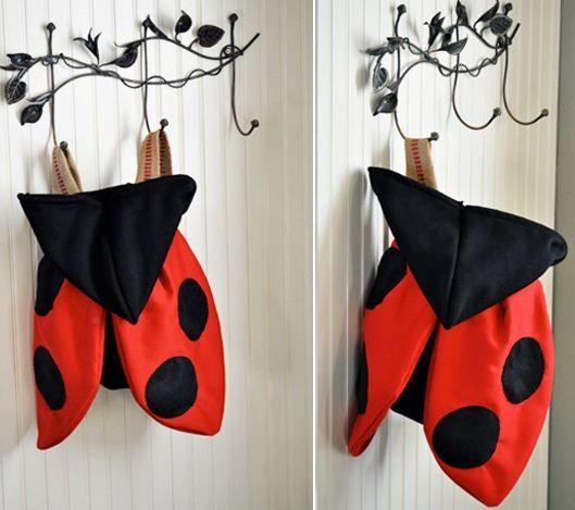 disfraz de mariquita casero para niño