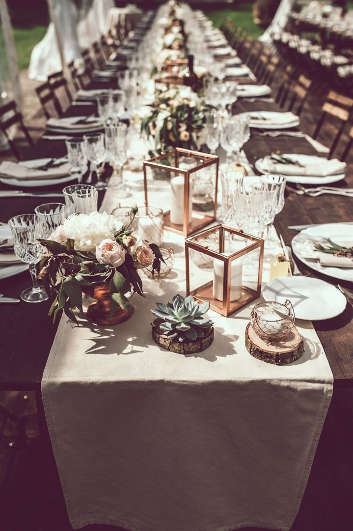 Rasha and Amer's Elegant Cream, Blush and Bronze Tuscany Wedding by Nicola Tonolini