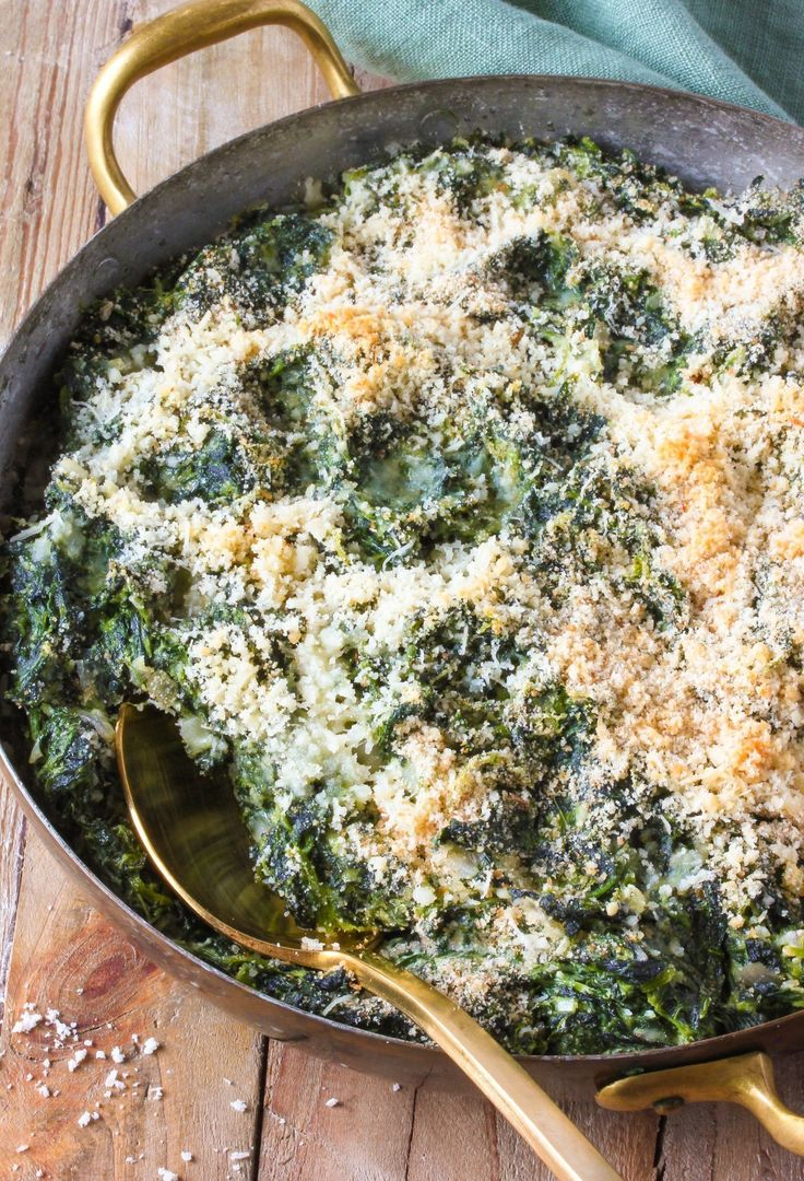 Recipe: Creamy Spinach Bake