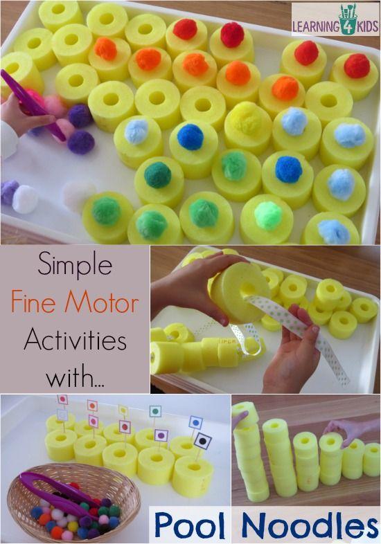 20 idées à partir de nouilles en mousse pour piscine                                                                                                                                                     More