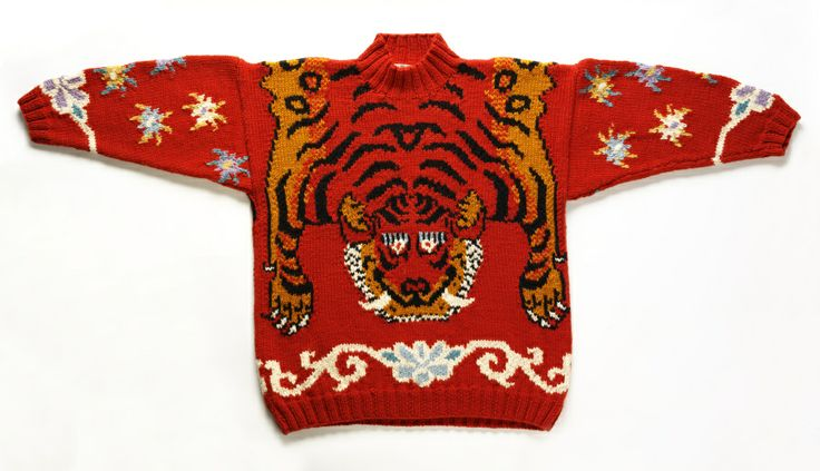 'tiger' jumper by Joseph Tricot