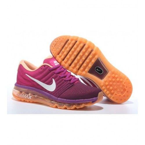 Nike Dámské - Koupit Nike Air Max 2017 Dámské Běžecké Boty Nachový Oranžový 0528