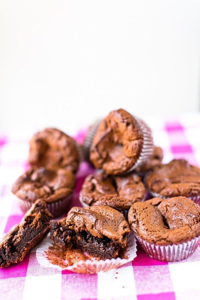 Kladdiga Brownies PALEO - Glutenfri - Low Carb - 56kilo - Inspiration, Hälsa och Livets goda!