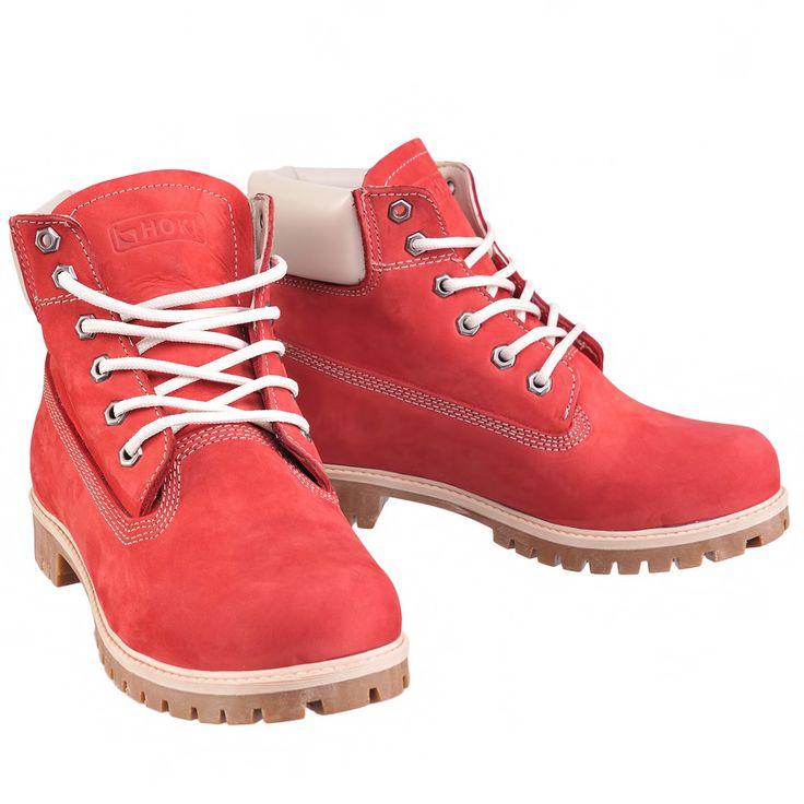Ботинки женские Liberitae 2144117-8 36 Красные