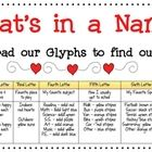 This is a great back to school activity! Have students follow the glyph key to decorate the letters of their name. Several extension activities are...