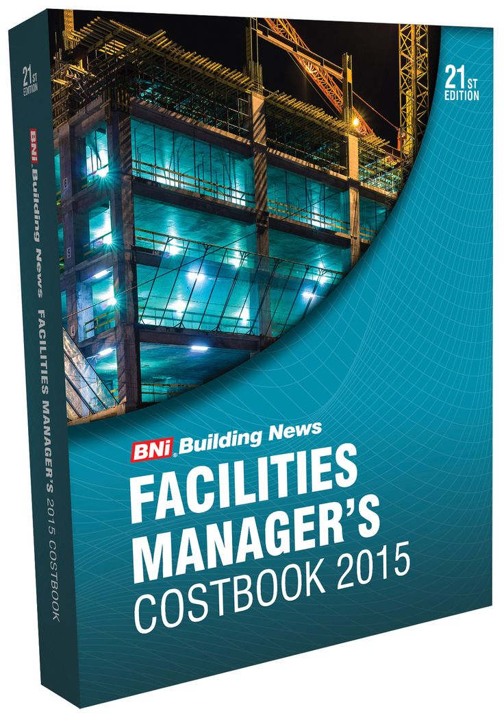 2018 BNi Facilities Manageru0027s Costbook is designed