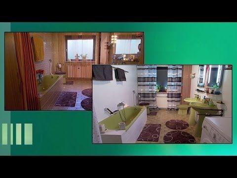 Badrenovierung: Moderner Look für alte Kacheln - YouTube