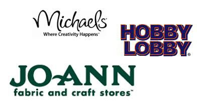 New Craft Coupons---Save up to 40% at Michaels, Hobby Lobby and Jo-Ann Craft Stores!