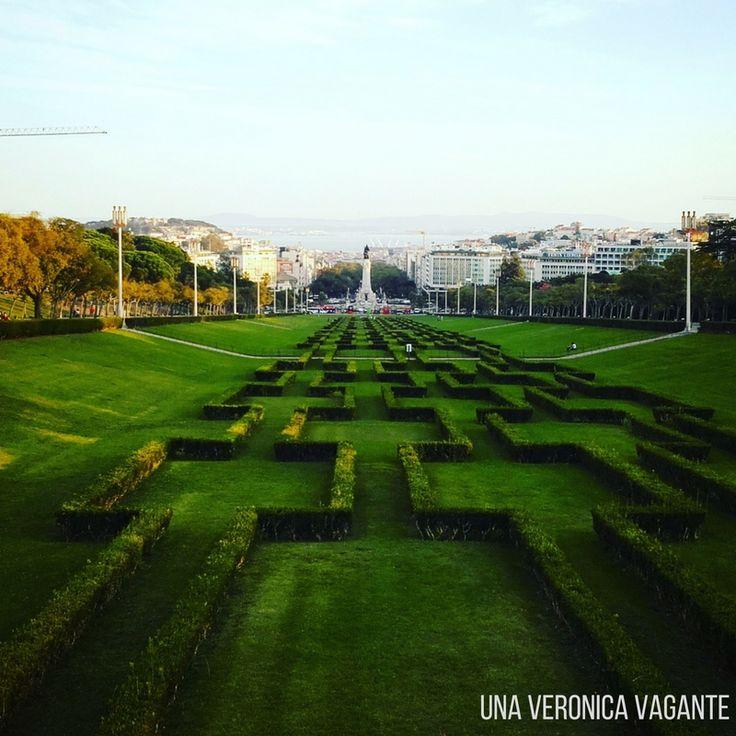 Cosa fare a Lisbona? Tra le 15 cose, sicuramente sfaticare e fare tutta la salita fino al Miradouro di Parque Eduardo VII!