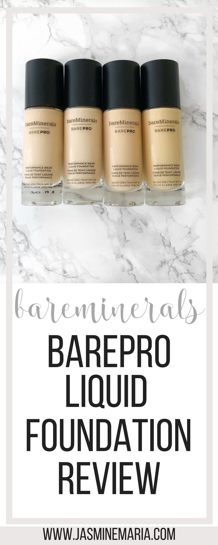 #bareminerals #baremineralsfoundation #beauty #makeup #makeupreview #productreview