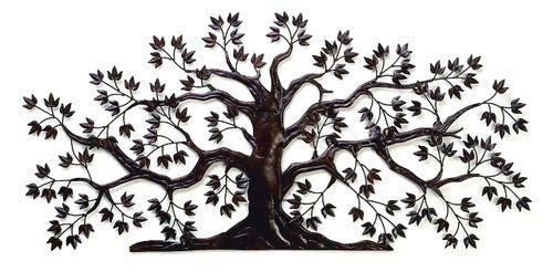 Theresa Large Tree Iron Wall Art