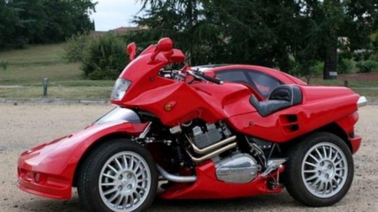 Unique sidecar motorcycle  *