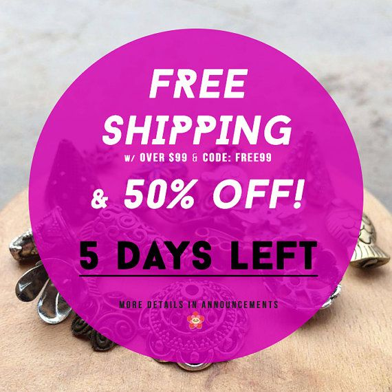 5 Days LEFT MOVING Clearance Sale   FREE shipping*order code: FREE99  by yooounique