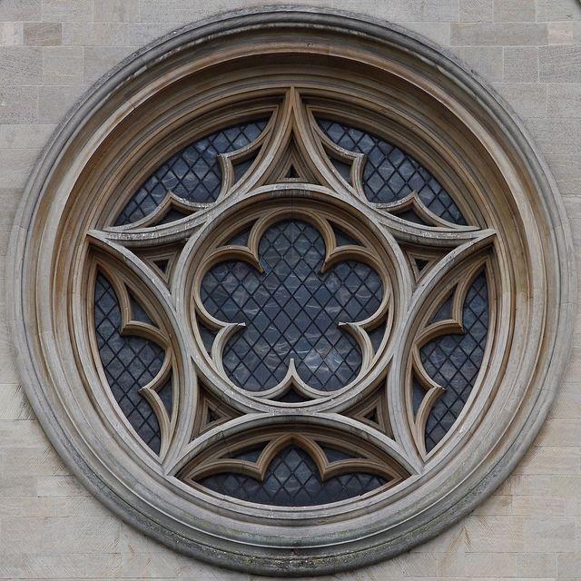 round window, Cambridge - Leo Reynolds