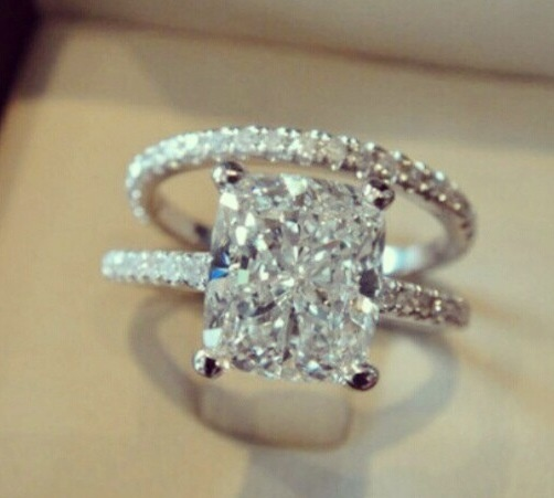 61 best Dream wedding rings 3 images on Pinterest Engagements