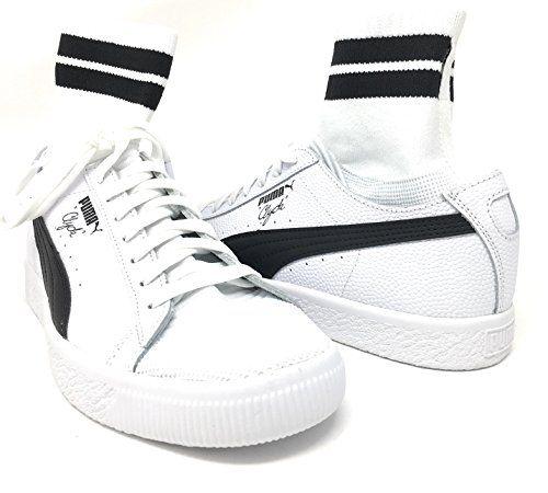 Sneah Knit Fashion Sneaker para hombre, True Blue / Puma White, 4 M US