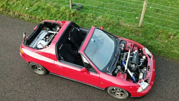 Twin engine turbo JDM Honda crx del sol AWD for sale! YouTubehttps://youtu.be/md523liL01k