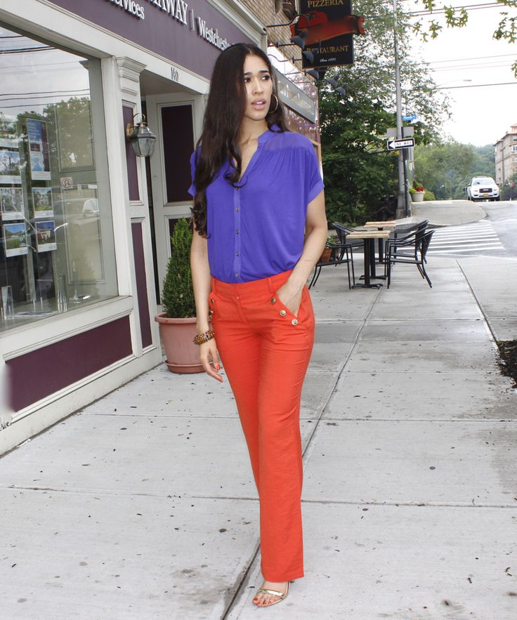 Amazing How To Wear Orange Trousers  FashionGum